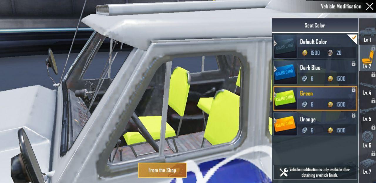 Green-seat UAZ