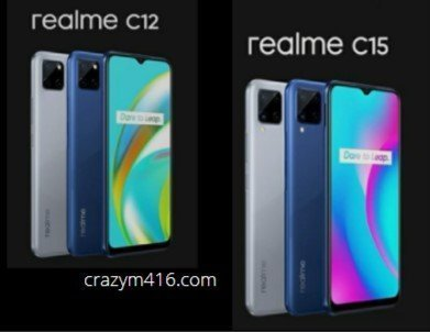 Realme C12 & Realme C15 Launched in India, price starting @ 8999₹